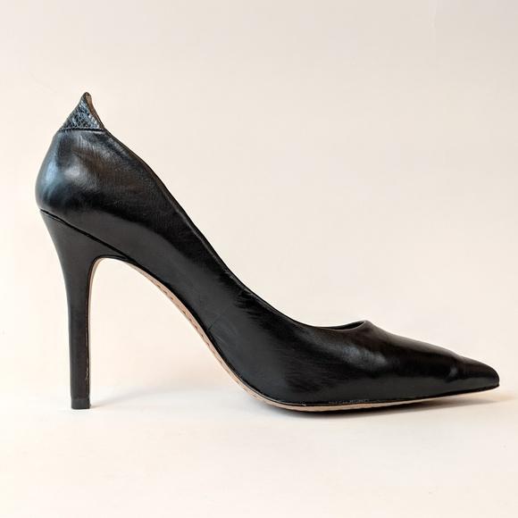 3282ae39adf Sam Edelman Shoes - Sam Edelman Black Portney Pump size 8.5 EUC